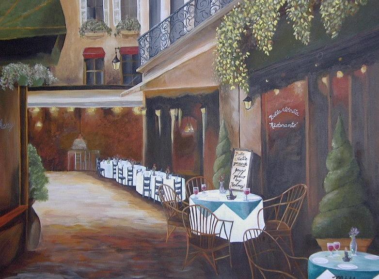 italian street cafe romantic appointment dinner