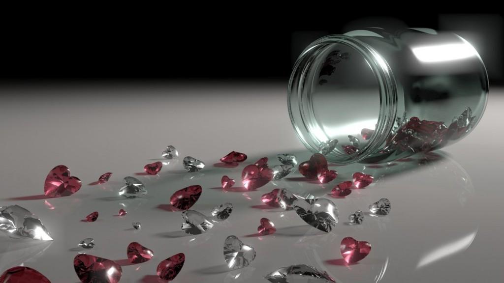 jar of hearts valentines year round
