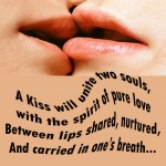 Dozens of poems featuring kisses