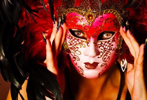 mask surprise