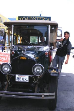 PAINTED LADIES AND VINTAGE TOURING CARS: LOVING VICTORIAN SAN FRANCISCO