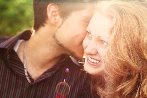 whisper words kissing game