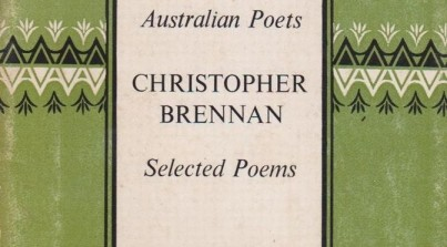 Christopher Brennan Poetry