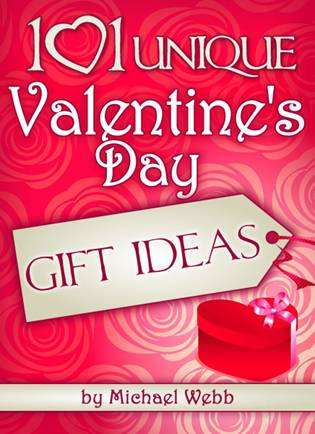 101 unique valentines day gift ideas cover